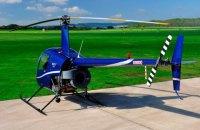 Частный вертолет разбился вблизи Яремче Ивано-Франковской области