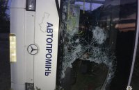 Два пассажира рейсового автобуса погибли в ДТП в Днепропетровской области