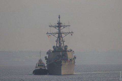 В Одессу зашел американский ракетный эсминец Donald Cook