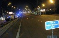 Автомобиль сбил насмерть мужчину и скрылся на Окружной в Киеве