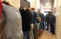 В одесском отеле полиция задержала 25 вооруженных мужчин