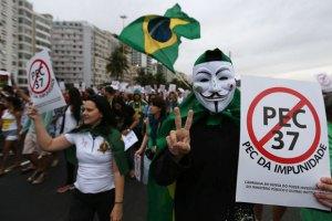 В Бразилии бастуют жители трущоб