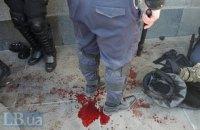 112 силовиков госпитализированы после взрыва у Рады