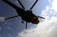 Над Кремлем заметили вертолеты, которые несли на тросе груз с живыми людьми