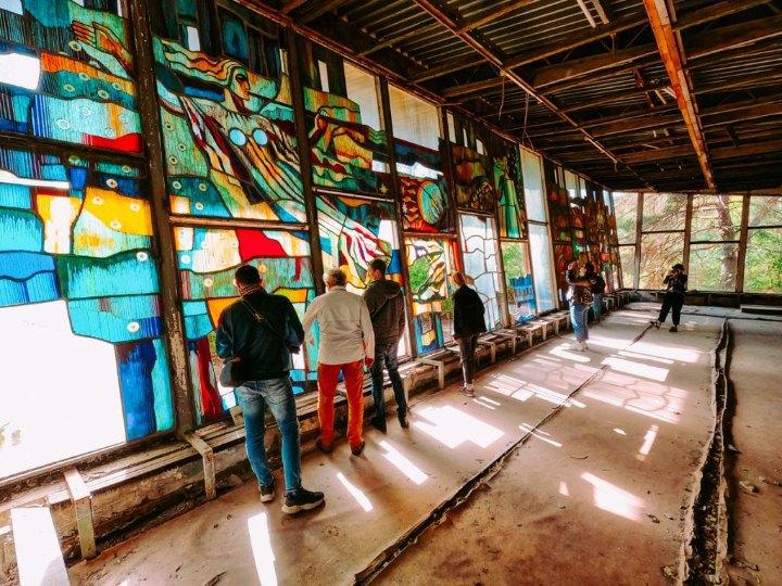 Туризм у Чорнобильській зоні