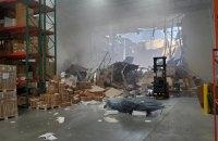 В Лос-Анджелесе военный истребитель упал на здание