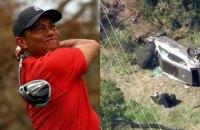 Титулованный гольфист Тайгер Вудс попал в страшную автомобильную аварию