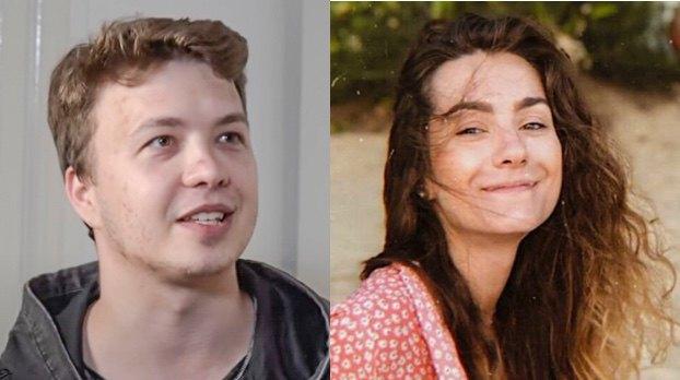 Роман Протасевич і Софія Сапега