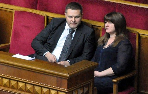 Олексій Маловацький та Ірина Мамонтова
