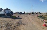Крупная авария в Запорожской области: при столкновении маршрутки и грузовика погибли 5 детей и взрослый (обновлено)