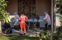 В Италии за сутки выявили самое большое количество зараженных коронавирусом