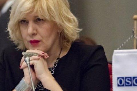 Комиссар Совета Европы Миятович подтвердила намерение посетить Крым