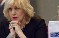Комісар Ради Європи Міятович підтвердила намір відвідати Крим
