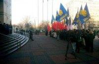 Активисты Евромайдана заблокировали заседание Киевсовета
