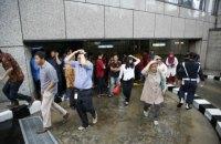 В Джакарте обвалился второй этаж в здании фондовой биржи: десятки пострадавших