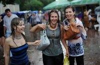 В понедельник в Киеве гроза и до +27