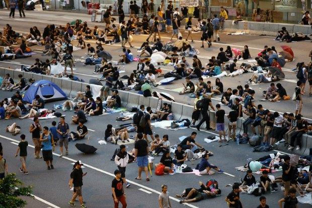 Акция Occupy Central в Гонконге