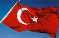 Возле посольства Турции в Киеве напали на митингующих в поддержку курдов (обновлено)