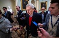 Лідер республіканців у Сенаті США звинуватив Трампа у підбурюванні до заворушень