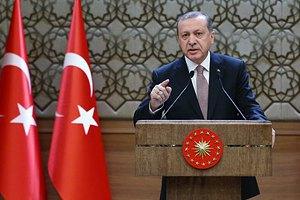 Эрдоган обвинил Россию в поставках оружия боевикам РПК