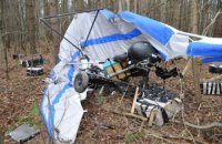 В Польше разбился украинский дельтаплан с контрабандными сигаретами