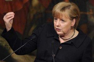 Меркель назвала ситуацию на востоке Украины противостоянием с Россией