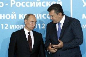 Янукович надеется в ноябре обсудить газовый вопрос с Путиным