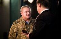 Порошенко наградил 2 нацгвардейцев орденами Богдана Хмельницкого