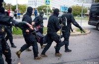 У Білорусі силовики застосували під час затримань світлошумові гранати і сльозогінний газ