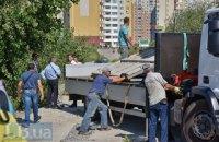 """""""Киевблагоустройство"""" демонтировало забор на строительстве новой подстанции на Осокорках"""