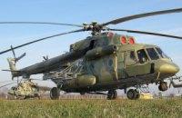Боевики подбили украинский санитарный вертолет