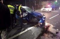 Юноша без прав разбился насмерть за рулем автомобиля на трассе во Львовской области