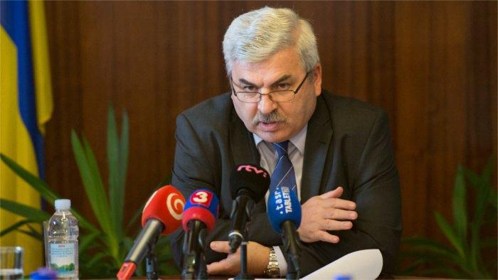 Посол Украины в Словакии Юрий Мушка