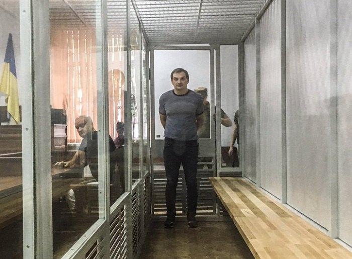 Роман Лягин во время заседания суда
