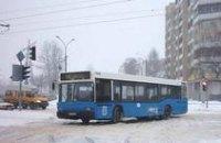 В Новогоднюю ночь гортранспорт Днепропетровска будет работать в полную силу