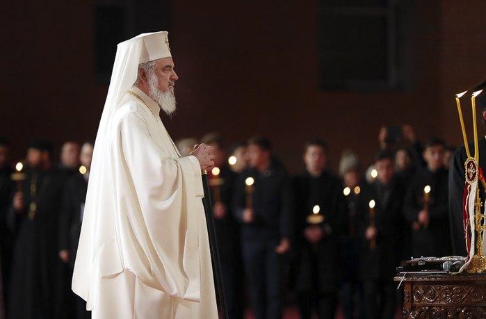 Глава Румынской православной церкви патриарх Даниил
