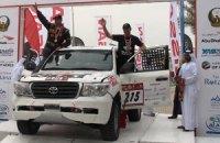Команда Sixt Ukraine набирает 20 очков в классификации ФИА на гонке в Абу Даби