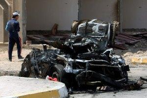 В центре Багдада произошел взрыв, есть жертвы