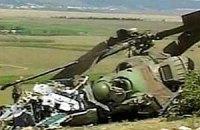 В Крыму упал вертолет