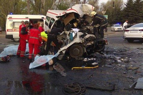 Кількість пасажирів у маршрутці, що потрапила у смертельну ДТП у Кривому Розі, перевищувала норму