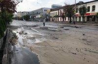 КГГА: причина затопления улицы Антоновича - прокладка теплосетей