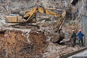 В Киеве начали строить метро на Троещину