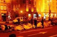 На Майдані почали демонтувати намети (оновлено)