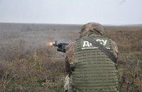 Подразделения Донецкого погранотряда провели учения на Азовском море
