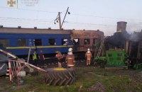 Через залізничну аварію на Полтавщині затримується рух поїздів (оновлено)