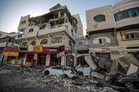 В результате обстрелов Израиля в секторе Газа погибли 43 человека, в том числе 13 детей