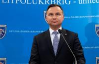 Дуда наголосив на важливості військової співпраці Польщі з Україною