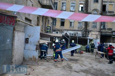 В деле по обвалу дома на Хмельницкого спустя год появился подозреваемый