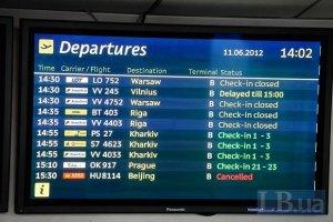 Названы самые непунктуальные авиакомпании Украины