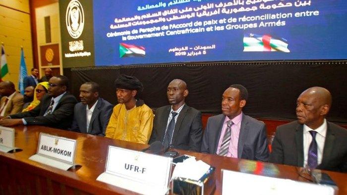 Подписание мирного соглашения в Хартуме